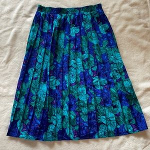 Vintage A-line midi skirt